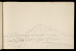Mukungunge Hill, near Hazaribagh. Nov. 1813